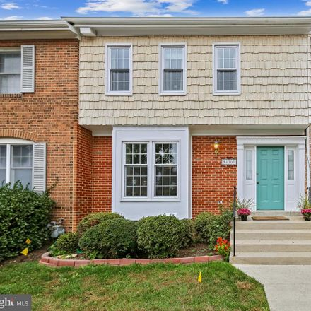 Rent this 3 bed townhouse on 14303 Rosetree Ct in Silver Spring, MD
