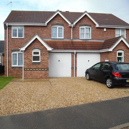 Rent this 3 bed house on Skirbeck Quarter in Sir Isaac Newton Drive, Boston PE21 7SG