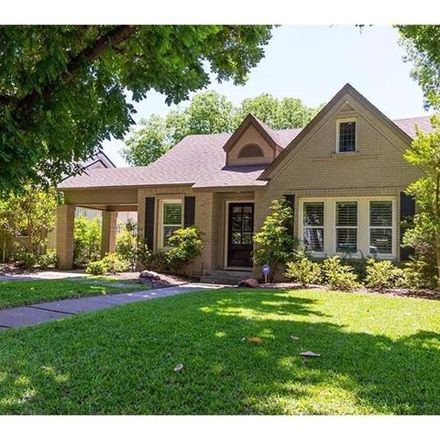 Rent this 3 bed house on 5550 Ridgedale Avenue in Dallas, TX 75206