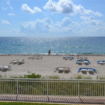 Rent this 3 bed condo on Regency Tower North in 3850 Galt Ocean Drive, Fort Lauderdale