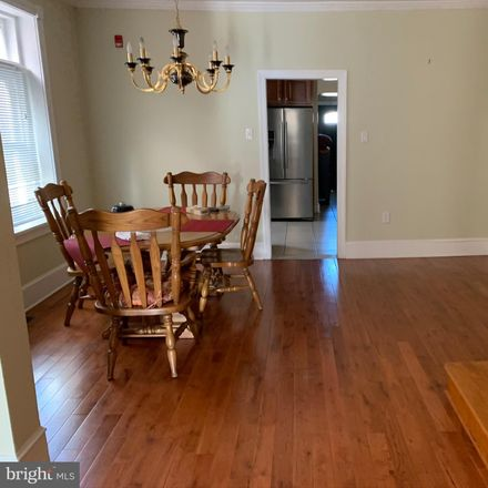 Rent this 5 bed townhouse on 213 Noble Street in Norristown, PA 19401