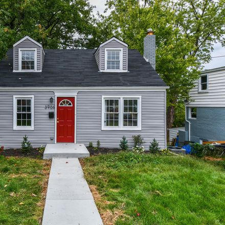 Rent this 4 bed house on 3906 56th Place in Hyattsville, MD 20784