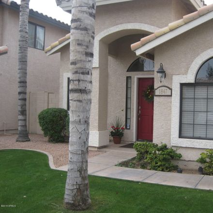 Rent this 3 bed house on 1847 East Marquette Drive in Gilbert, AZ 85234