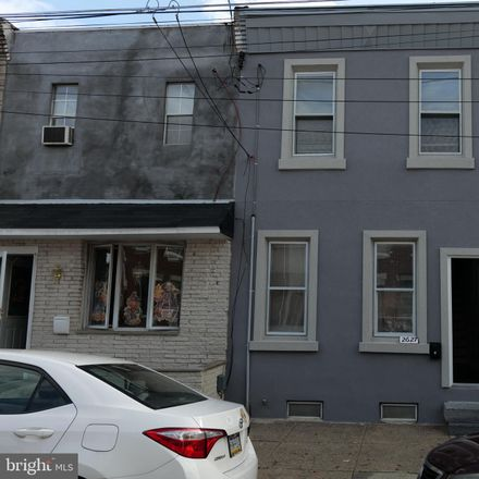 Rent this 3 bed townhouse on 2627 Jasper Street in Philadelphia, PA 19125
