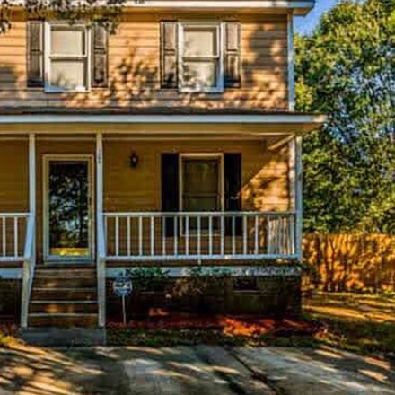 Rent this 3 bed house on 106 Earlston Ct in Carrington Woods, Knightdale