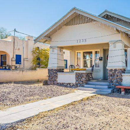 Rent this 2 bed house on 1235 North Euclid Avenue in Tucson, AZ 85719
