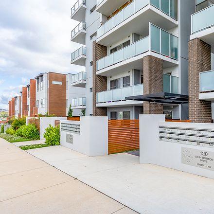 Rent this 1 bed apartment on 9/120 John Gorton Drive