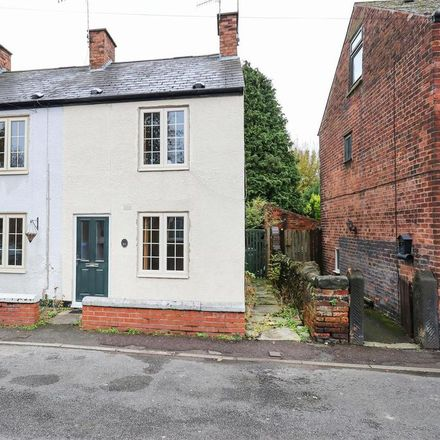Rent this 1 bed house on Victoria in Victoria Street West, Chesterfield S40 3QY