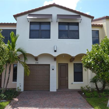 Rent this 4 bed townhouse on NW 209th Ave in Hollywood, FL