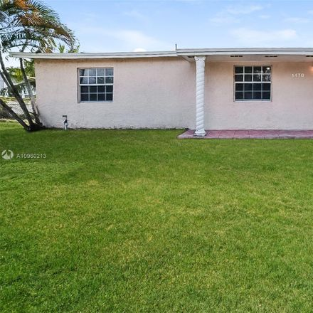 Rent this 3 bed house on 1470 Northwest 200th Street in Miami Gardens, FL 33169