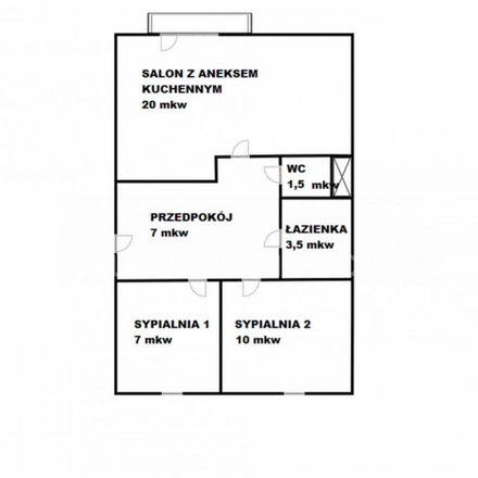Rent this 3 bed apartment on Szancera 4 in 85-792 Bydgoszcz, Poland