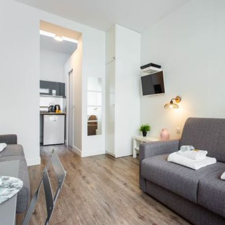 Rent this 1 bed apartment on 40 Rue Popincourt in 75011 Paris, France
