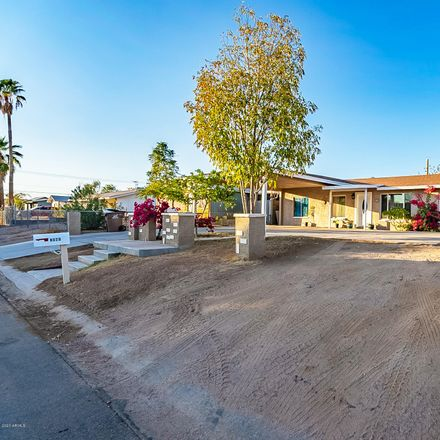 Rent this 3 bed house on 8020 East 4th Avenue in Mesa, AZ 85208