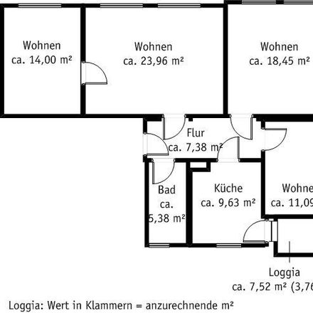 Rent this 4 bed apartment on Hospitalstraße 9 in 01796 Pirna, Germany