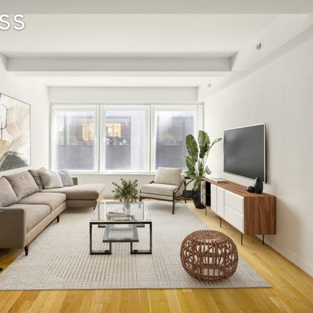 Rent this 1 bed condo on BlueSpoon Coffee Co in 90 William Street, New York