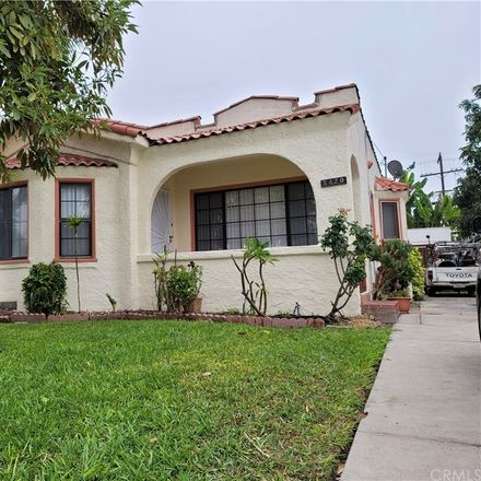 Rent this 2 bed house on 8420 Mountain View Avenue in South Gate, CA 90280