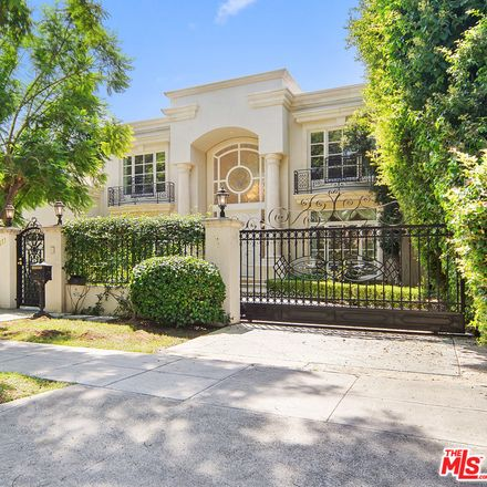 Rent this 6 bed house on 611 North Roxbury Drive in Beverly Hills, CA 90210