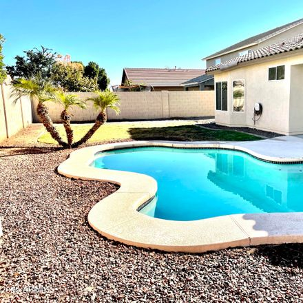 Rent this 3 bed house on 14360 West Fairmount Avenue in Goodyear, AZ 85395