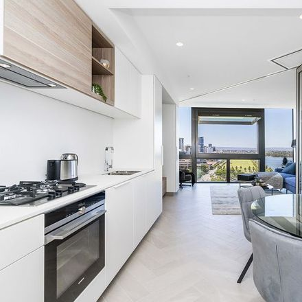 Rent this 1 bed apartment on 1803/1 Geoffrey Bolton Avenue
