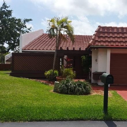 Rent this 3 bed townhouse on 404 Northeast 195th Street in Ives Estates, FL 33179