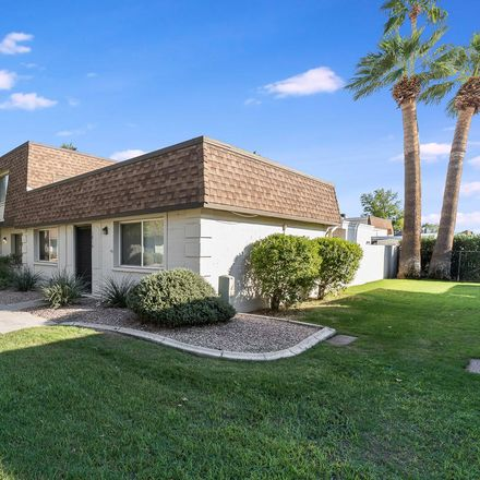 Rent this 2 bed townhouse on 5014 North 83rd Street in Scottsdale, AZ 85250