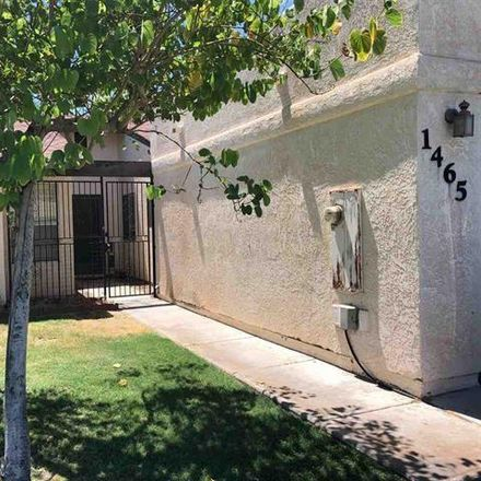 Rent this 3 bed house on 1473 West Hillside Place in Yuma, AZ 85364