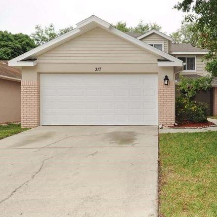 Rent this 3 bed loft on 317 Sand Ridge Drive in Brandon, FL 33594
