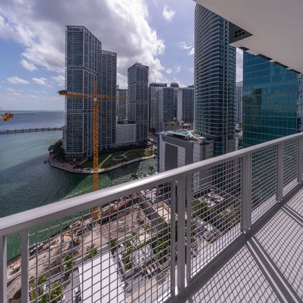 Rent this 1 bed apartment on 799 Southeast 8th Street in Miami, FL 33131