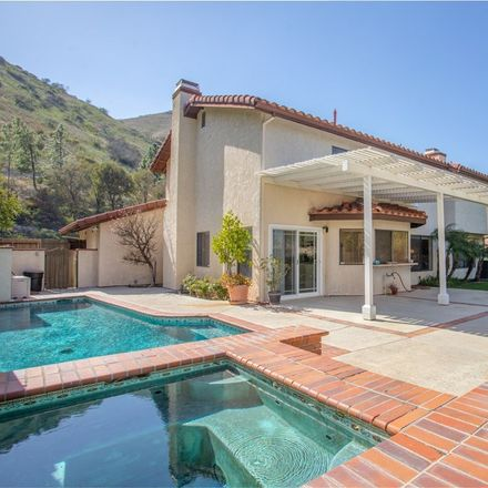 Rent this 4 bed house on 7132 Castle Peak Drive in Los Angeles, CA 91307