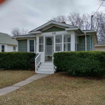Rent this 1 bed house on 519 South Baird Street in Green Bay, WI 54301