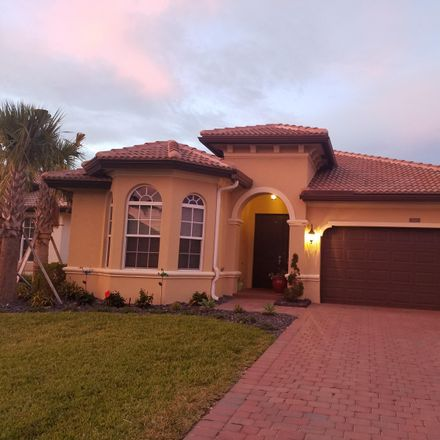 Rent this 3 bed house on Mancho Way in Lake Worth, FL