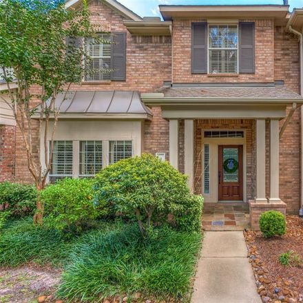 Rent this 3 bed townhouse on 35 Medley Lane in The Woodlands, TX 77382
