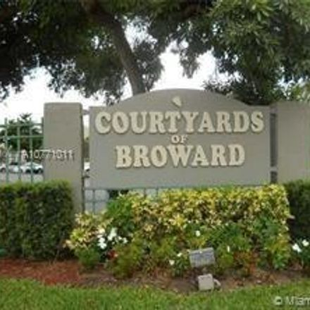 Rent this 2 bed condo on 1830 Southwest 81st Avenue in North Lauderdale, FL 33068
