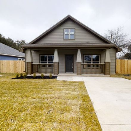 Rent this 3 bed house on 1222 South Walters in San Antonio, TX 78210