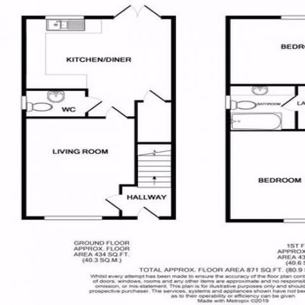 Rent this 2 bed house on Sudbrook Pump House in Old School Mews, Sudbrook NP26 5SZ