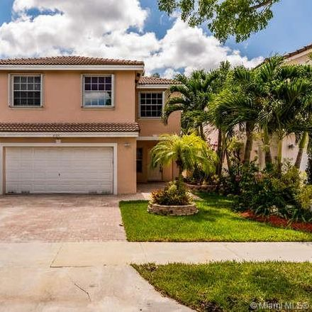 Rent this 4 bed house on 4120 West Silverado Circle in Davie, FL 33024