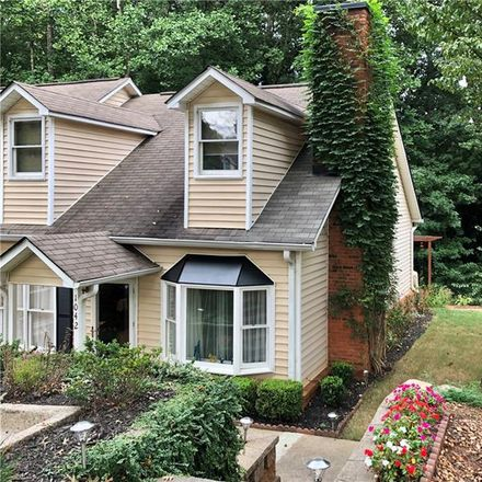 Rent this 3 bed townhouse on 1042 Sasha Lane in Roswell, GA 30075