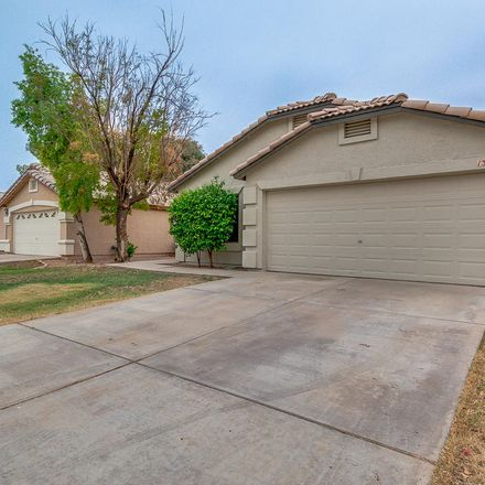 Rent this 3 bed house on 1365 West Vaughn Avenue in Gilbert, AZ 85233