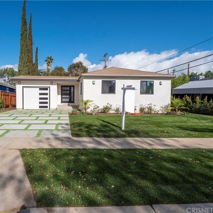 Rent this 4 bed house on 17601 Rhoda St in Encino, CA