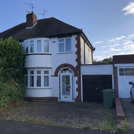 Rent this 3 bed house on Canterbury Road in Wolverhampton WV4 4EH, United Kingdom