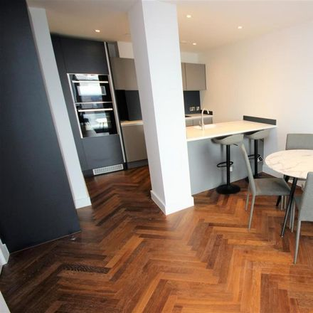 Rent this 1 bed apartment on Lumiere Building in 38 City Road East, Manchester M15 4QN