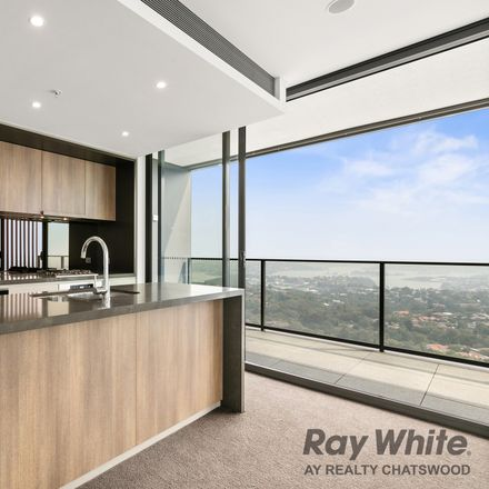 Rent this 3 bed apartment on 2506/486 Pacific Highway