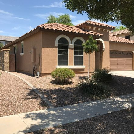 Rent this 3 bed house on 3826 East Baars Avenue in Gilbert, AZ 85297