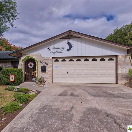 Rent this 3 bed house on Gardenia Dr in New Braunfels, TX