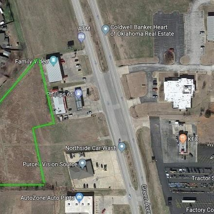 Rent this 0 bed apartment on North Green Avenue in Purcell, OK 73080