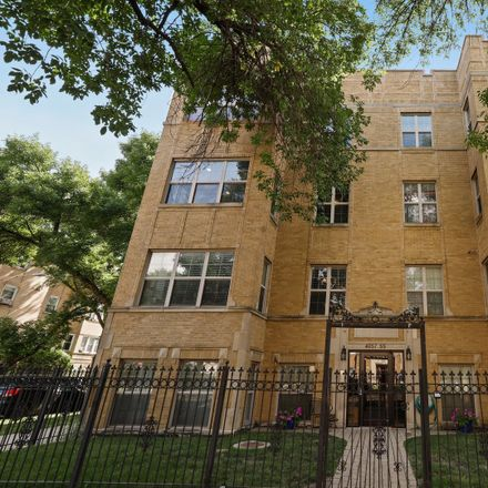 Rent this 2 bed condo on North Central Park Avenue in Chicago, IL 60618
