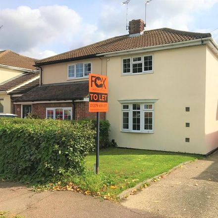 Rent this 3 bed house on Mary Park Gardens in East Hertfordshire CM23 3ES, United Kingdom