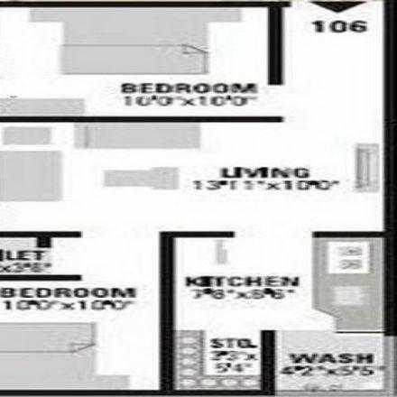 Rent this 2 bed apartment on Thakkarabapa Nagar in Ahmedabad - 380001, Gujarat
