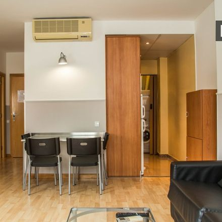 Rent this 1 bed apartment on Carrer de Sant Magí in 8 Barcelona, Spain