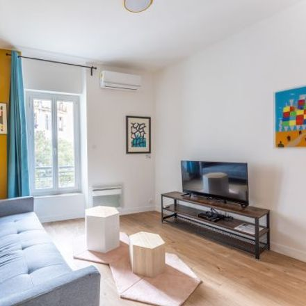 Rent this 2 bed apartment on 1 Rue Lautard in 13003 Marseille, France